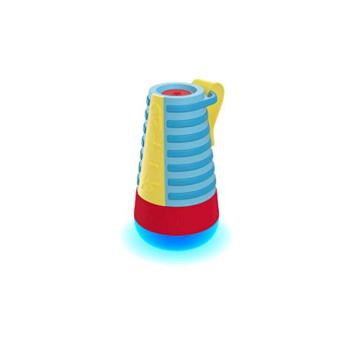 KitSound Mini Mover 20 Bluetooth Kids Party luidspreker, duurzame watervaste en draadloze luidspreker met Sing Along microfoon - blauw/rood/geel
