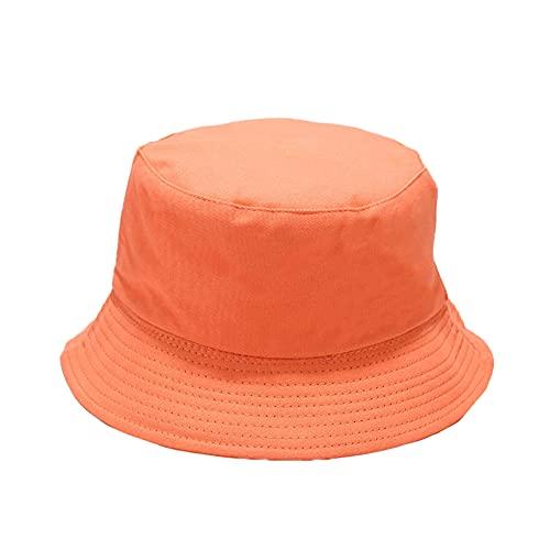 Mujeres Sombrero Pescador Algodón Plegable Bucket Hat Unisex Sombrero Pesca Reversible Gorro de Pescador Verano Sombrero para el Sol Al Aire Libre Visera para Senderismo Camping y Playa Viaje color5