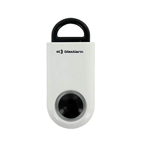 Matte Black Allarme 130dB la sicurezza e la sicurezza dei dispositivi di emergenza iMaxAlarm SOS allarme attento personale