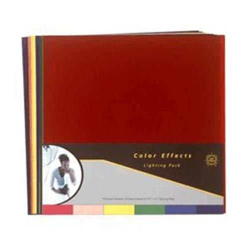 Lee Filters color effects Pack, confezione da 12fogli, 30,5x 25,4cm, illuminazione