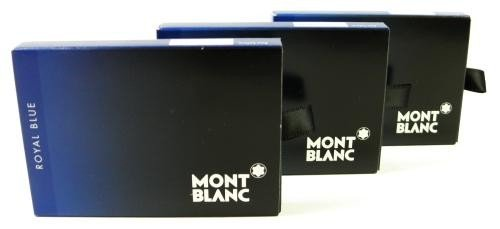 Montblanc 24 Cartucho de tinta Royal Blue