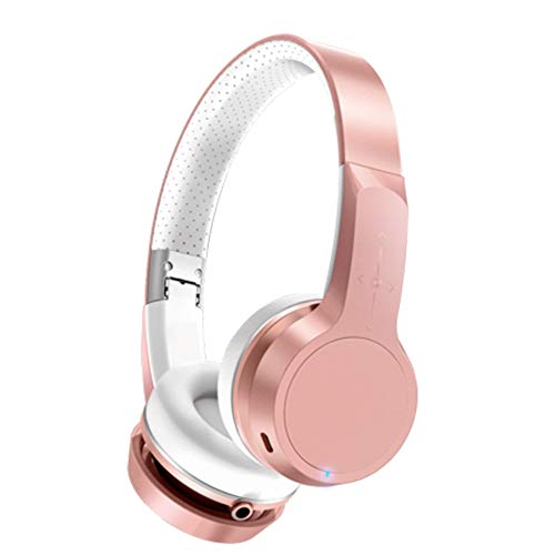 TEMP Gaming Music Headset Bluetooth Wireless Headset Headset Sports Running, Pliable Active Noise Reduction Surround Sound Convient aux téléphones Portables Tablettes Portables