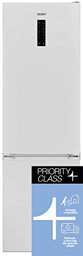 Sauber - Frigorífico Combi Serie 5-201B Tecnología NOFROST - Blanco - 201x59,5 cm - ENTREGA EN DOMICILIO