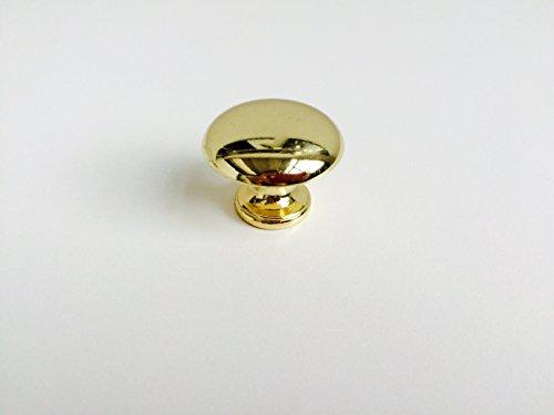 Pomello in stile classico e contemporaneo per cassetti mobili armadi cucine oro lucido - cod. 412