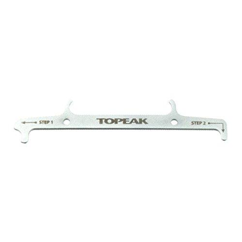 Topeak Kettenwerkzeug Chain Hook & Wear Indicator, Silver, One size