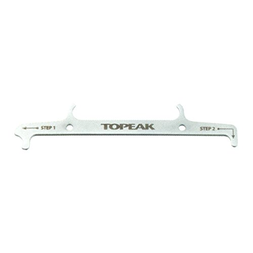 Topeak Kettenwerkzeug Chain Hook & Wear Indicator, Silver, One size