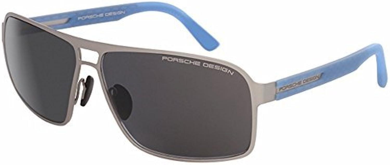 Porsche Design P8508 A gold Polarised Sunglasses  Size  6014130  color  Silver