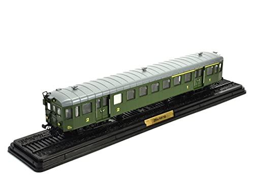 OPO 10 - Train 1/87 Ho SNCF Automotrice ZRx-14110 End Trailer ZRx-14100 (025)