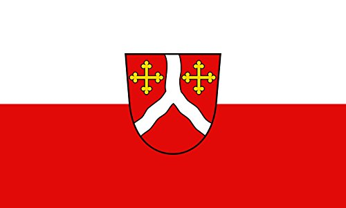 Unbekannt magFlags Tisch-Fahne/Tisch-Flagge: Kirchentellinsfurt 15x25cm inkl. Tisch-Ständer