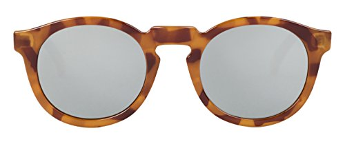 MR.BOHO, Leo tortoise jordaan with silver lenses - Gafas De Sol unisex multicolor (carey), talla única