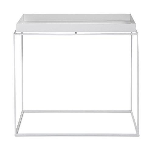 HAY Table d'appoint, Acier, Blanc, 54 cm