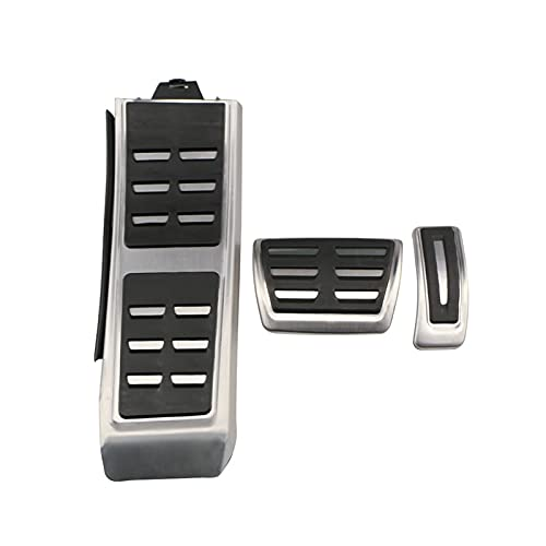 Just like Auto Pedals Fit for Audi A4 B8 S4 RS4 Q3 A5 S5 RS5 8T Q5 8R S6 4G A8 S8 S6 4G A8 S8 A8L 4H AT MT FuelRrem Pedal Funda Pedal (Color Name : AT with Rest Pedal)