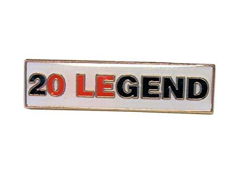 Manchester United FC The Classic 2OLEGEND Anstecker – Manchester United Football Club Souvenir Geschenk Pin