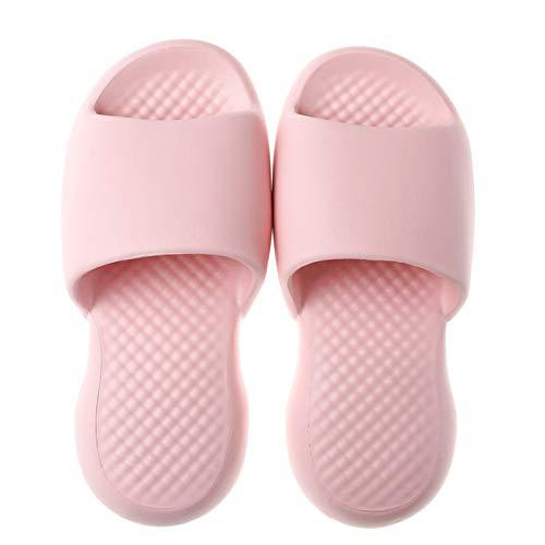Zapatillas de estar por casa ultrasuaves, color macaron, antideslizantes, EVA, para el cuarto de baño, para casa