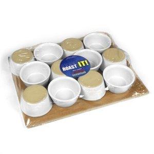 12 Mini Ceramic Ramekins