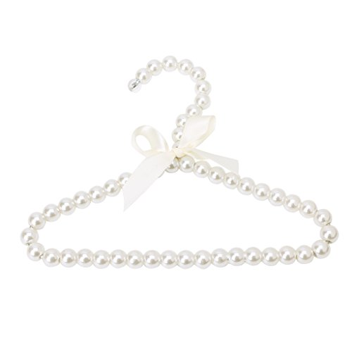 Grucce appendiabiti alla moda in plastica, con perle, per bambini, motivo: cane e gatto