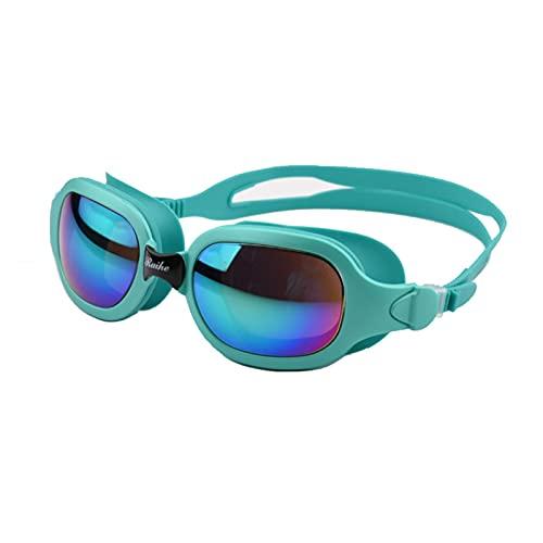 JYDZSW Gafas de natación Gafas de natación Adultos Hombres Profesionales Mujeres Anti Niebla Impermeable Gafas Gafas de Buceo Gafas (Color : Sky Blue)