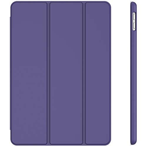 JETech Custodia Compatibile con iPad 8 7 (10.2 Pollici, 2020 2019 Modello, 8 7 Generazione), Cover con Auto Svegliati Sonno, Porpora