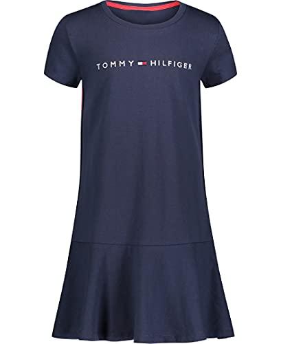 Tommy Hilfiger Girls' Tee Shirt Dress, FA21Navy Blazer Taping, XL16