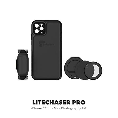 PolarPro LiteChaser Pro Photography Kit for iPhone 11 Pro Max Case + Handle + PolarFilter, IPHN11-PRO-MAX-PHTO