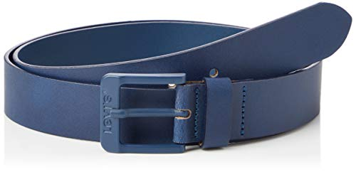 Levi's Free Metal cinturón, Azul Oscuro, 95 Unisex Adulto