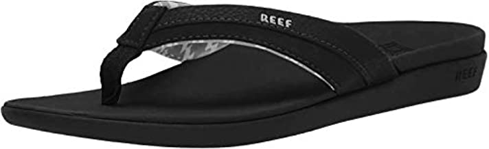 Reef Women's Ortho Coast Sandal, Black, 8