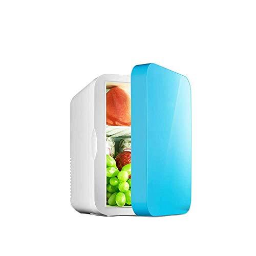 Mini Nevera Nevera eléctrica 12V / 240V para Coche y hogar Nevera portátil de 6L Refrigerador de Coche frío y cálido con para Viajar y Acampar [Clase energética A ++]