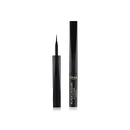 L'Oréal Paris Flüssiger Eyeliner mit weicher und flexibler Feder, Super Liner Black Lacquer Flüssig-Eyeliner, Nr. 00 Black Lacquer, 1 x 1,9 g