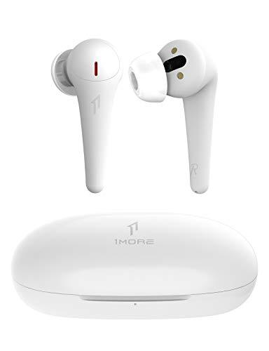 1MORE ComfoBuds Pro Cuffie Bluetooth, Auricolari Wireless con Cancellazione Attiva del Rumore, 5 Modalità Adattive, 28 Ore di Riproduzione, 6 Microfoni, Ricarica Veloce, Bianco