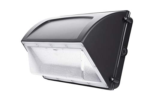 Hyperikon 120W LED Wall Pack, IP65, HPS HID Replacement, 5000K, Outdoor, Garage, Warehouse Light, ETL