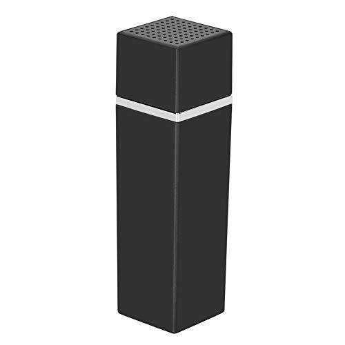 Persönliche Alarm 120 DB Taschenalarm, Lippenstift Persönliche Sicherheit Alarm Keychain Notfall Selbstverteidigung Safe Sirene(Schwarz)