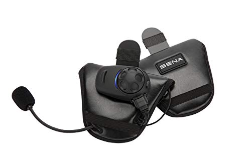 Sena SPH10HD-FM-01 Ecouteurs et Intercom Bluetooth® avec Tuner FM Intégré pour Demi-Casques Pack Double