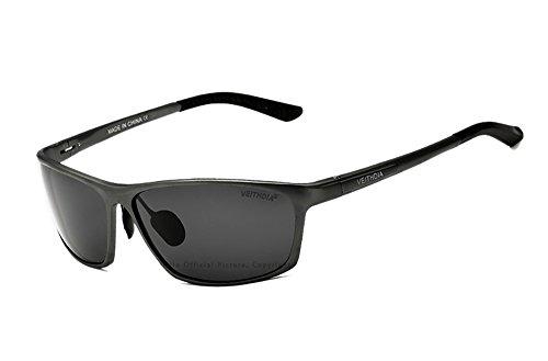 VEITHDIA polarizadas gafas de sol deportivas 100% UV400protección gafas de sol gafas accesorios para béisbol, Correr, Pesca, Ciclismo, Golf, y deportes activos 6520