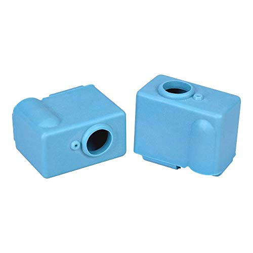 Silicone Sock for PT100 Volcano Heater Block Case Protective Cover 3D Printer Parts Hotend J-Head Nozzle Extruder Heating SKR 3D Printing Accessories