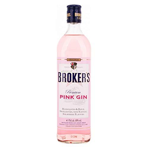 Broker's Premium PINK GIN 40,00% 0,70 Liter