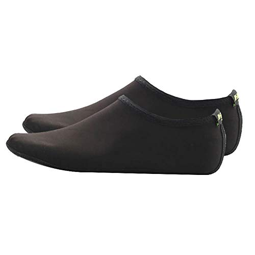 Lecimo 5 Paires De Chaussures d'eau, Chaussettes d'eau Unisexes Pieds Nus De La Peau pour l'exercice De Yoga sur La Plage, Natation, Yoga, L