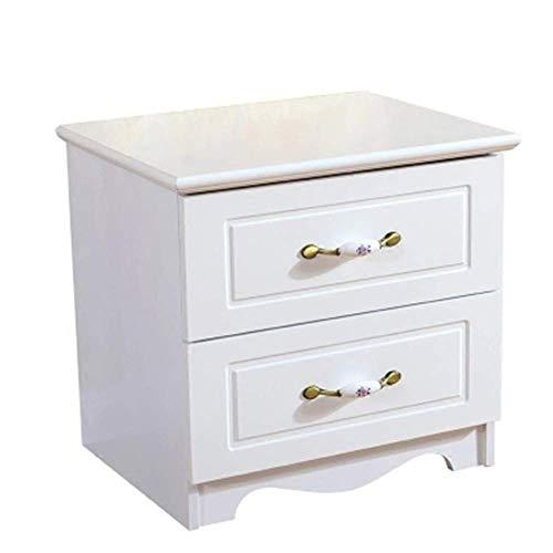 Tokkyia Nordeuropa. Weiß Einfache Farbe Nachttisch Europäische Einfache moderne Locker Schlafzimmer Multifunktionales Montageraum Nachttisch