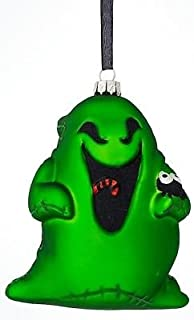 Disney Parks Oogie Boogie Nightmare Before Christmas Blown Glass Ornament
