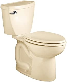 American Standard Cadet 3 Right Height Elongated Flowise Two-Piece High Efficiency Toilet with 12-Inch Rough-In, Bone Bone
