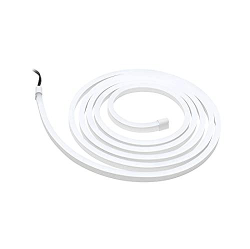 SimpLED 789.07 - Set di strisce per esterni, 3 m, 12 W, con rivestimento bianco