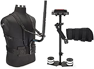 Flycam 5000 Steadicam + Body Pod + Arm Brace Support Quick Release fr SLR Camera (FLCM-5000-BPAB)