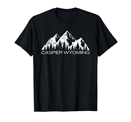 Casper Wyoming Mountain Souvenir Gift | Cool Casper Wyoming T-Shirt