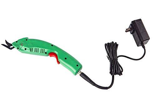 FSJD Tijeras eléctricas Cuchillo de Tela Herramienta eléctrica Cortador de Cuero Textil...
