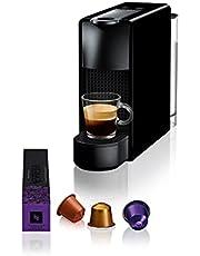 Nespresso C30 Essenza Mini Kapsüllü Kahve Makinesi, Siyah