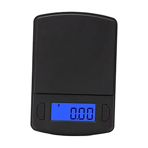 Fenteer Báscula de Cocina Digital para Alimentos, 2 Pilas AAA Incluidas, Herramienta de medición, Escala de gramo para la preparación de Comidas - 300 g 0.01 g