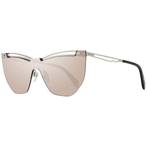 Just Cavalli JC841S 32C 00 Gafas de sol, Dorado (Oro/Fumo Specchiato), 0 Unisex Adulto