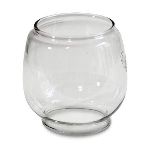 Glas transparent für Dietz Sturmlaternen 0023 bis 0036 und HEINZE Petroleumlampen 716011, 716015, 716017