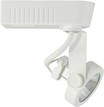 Direct-Lighting 50016 White MR16 Gimbal Ring Low Voltage Track Lighting Head