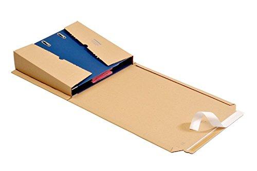 12 St. OPB - ORDNERPAC® Ordner-Versandboxen, Ordner-Versandkartons, Ordnerverpackung, Ordnerversandverpackung 320 * 290 * 35-80 mm