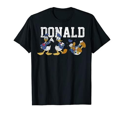 Disney Donald Duck Action Pose Graphic T-Shirt